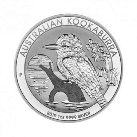 Avstralska Kookaburra 1 oz srebrnik 2019