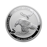 Australian Wedge Tailed Eagle - 1 oz Silver 2018
