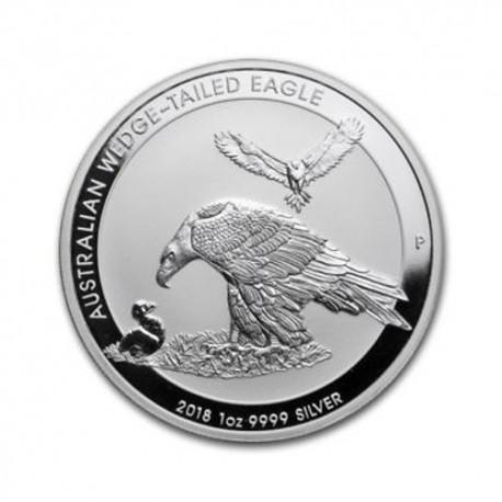 Australian Wedge Tailed Eagle - 1 oz Silver 2018