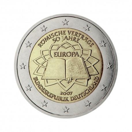"""Nemčija 2007 - """"Rimska pogodba"""" - G - UNC"""