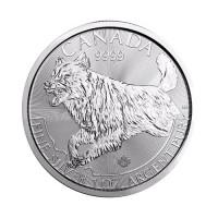 Kanada Volk - 1 oz srebrnik 2018