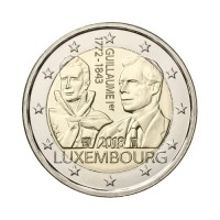 "Luxembourg 2018 - ""Grand Duke Guillaume I"" - UNC"