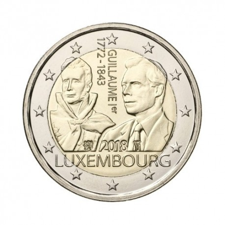 "Luxembourg 2018 - ""Grand Duke Guillaume I"" - UNC"