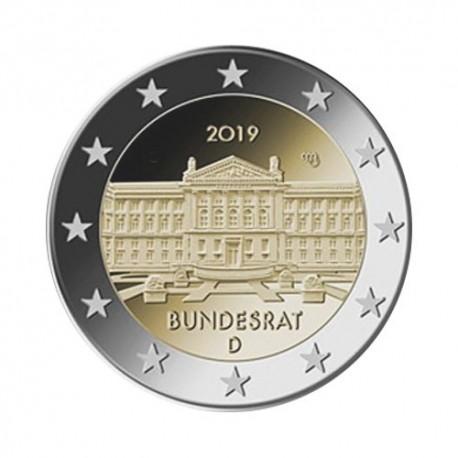 """Germany 2019 - """"Bundesrat """" - D - UNC"""