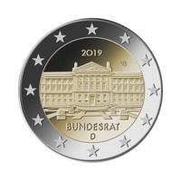 """Nemčija 2019 - """"Bundesrat"""" - G - UNC"""