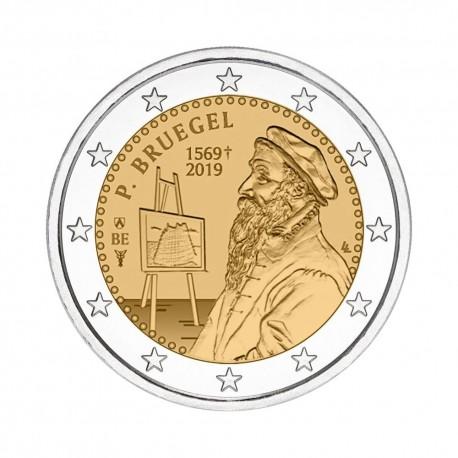 "Belgium 2019 - ""Peter Bruegel"" - coincard (French version)"