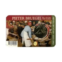 "Belgium 2019 - ""Peter Bruegel"" - coincard (Dutch version)"
