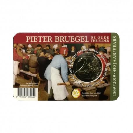 """Belgium 2019 - """"Peter Bruegel"""" - coincard (Dutch version)"""