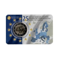 "Belgium 2019 - ""European Monetary Institute"" - coincard (French version)"