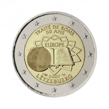 "Luxembourg 2007 - ""Treaty of Rome"" - UNC"