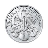 Dunajski filhamoniki 1 oz srebrnik 2019