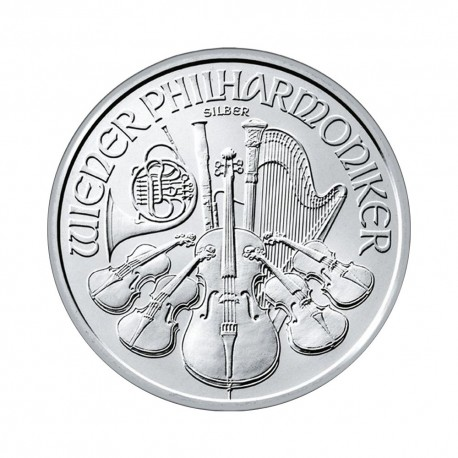 Vienna Philharmonic 1 oz Silver 2019