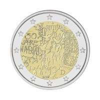 "Germany 2019 - ""Fall of Berlin Wall - G - UNC"