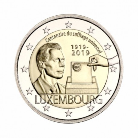 "Luxembourg 2019 - ""Suffrage"" - UNC"