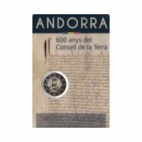 """Andorra 2019- """"Consell de la Terra"""" - UNC - blister"""