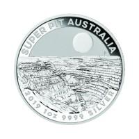 Australia Super Pit 1 oz Silver 2019