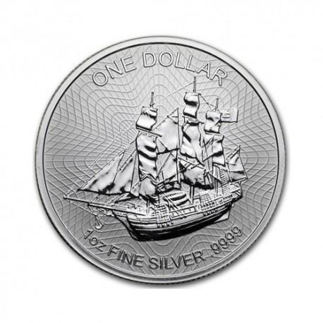 Cook Islands Baunty 1 oz Silver 2019