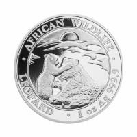 Somalia Leopard 1 oz Silver 2019