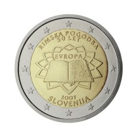 "Slovenia 2007 - ""Treaty of Rome"" - UNC"