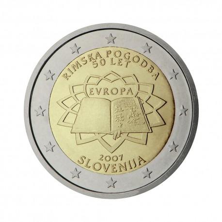 "Slovenia 2007 - ""Treaty of Rome"" - UNC"