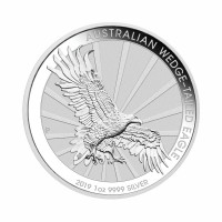 Avstralija Repati orel 1 oz srebrnik 2018