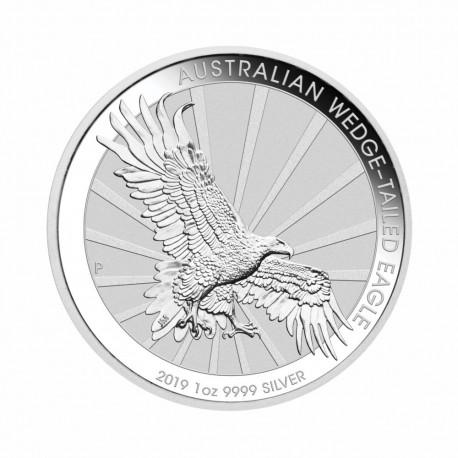 Australian Wedge Tailed Eagle - 1 oz Silver 2019