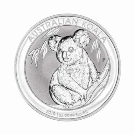 Australian Koala 1 oz Silver 2019