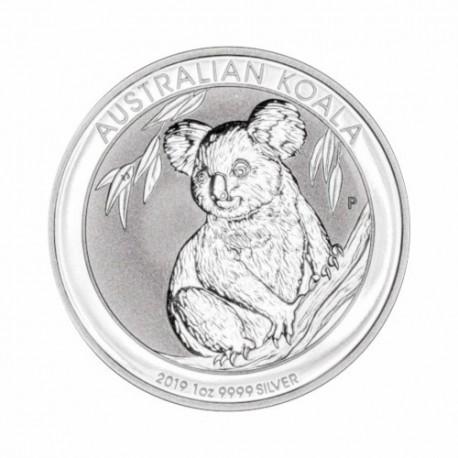 Avstralska koala 1 oz srebrnik 2019