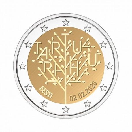 """Estonija 2020 - """"Mirovni sporazum - Tartu"""" - UNC"""