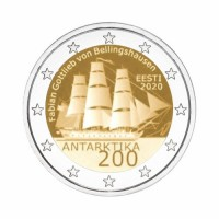 "Estonia 2020 - ""Discovery of Antarctic"" - UNC"