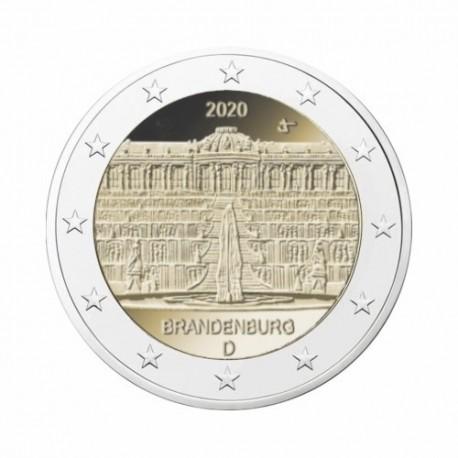 "Germany 2020 - ""Brandenburg "" - D - UNC"