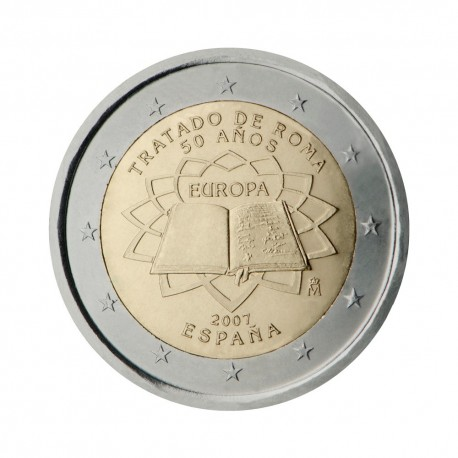 "Spain 2007 - ""Treaty of Rome"" - UNC"
