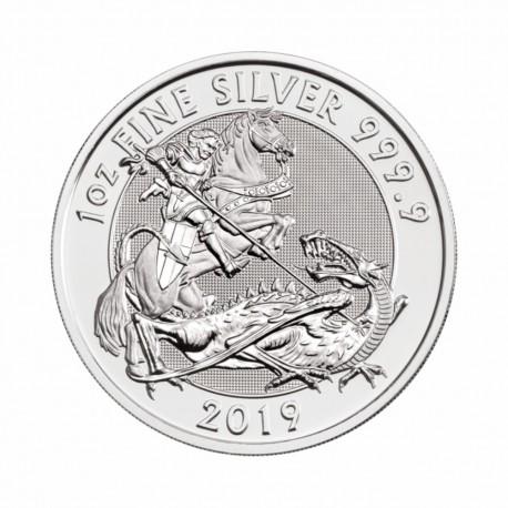 British - Valiant - 1 oz Silver 2019