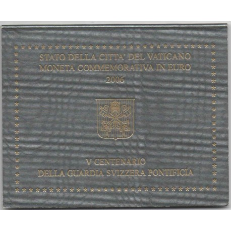 "Vatican 2006 - ""Swiss Pontifical Guard"" - UNC"