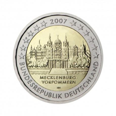 """Nemčija 2007 - """"Mecklenburg-Vorpommern"""" - F - UNC"""