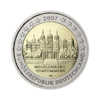"Nemčija 2007 - ""Mecklenburg-Vorpommern"" - J - UNC"