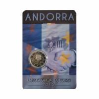 "Andora 2015 - ""Carinski sporazum"" - UNC -blister"