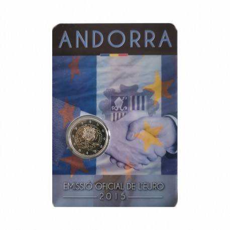 "Andorra 2015 - ""Customs Agreement"" - UNC - blister"