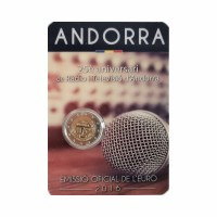"Andorra 2016 - ""Radio and Television"" - UNC - blister"