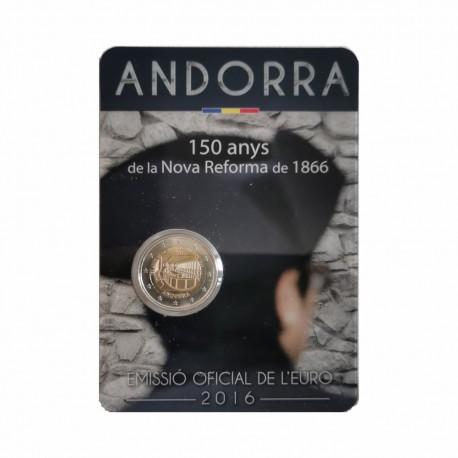 "Andorra 2016 - ""New reform"" - UNC - blister"