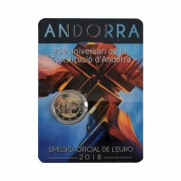 "Andora 2018 - ""Ustava"" - UNC -blister"