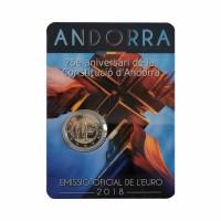 """Andorra 2018 - """"Constitution"""" - UNC - blister"""