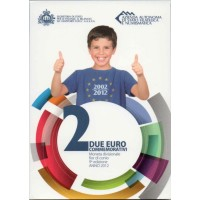 "San Marino 2012 - ""Deset let Evra"" - UNC"