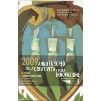 """San Marino 2009 - """"Ustvarjalnost in kreativnost"""" - UNC"""