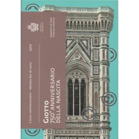 """San Marino 2017 - """"Giotto"""" - UNC"""