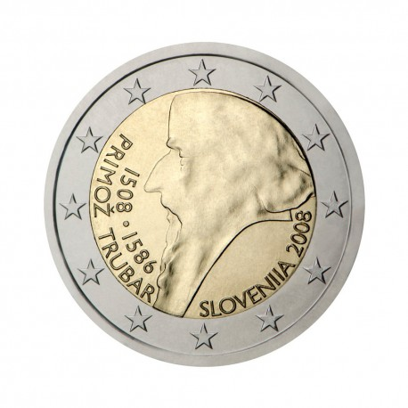 "Slovenia 2008 - ""Primož Trubar"" - UNC"