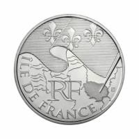 """Francija 10 evro 2010 """"Ile de France"""" - UNC"""