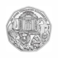 "Avstrija 5 evro 2002 - ""Schönbrunn Zoo"" - UNC"