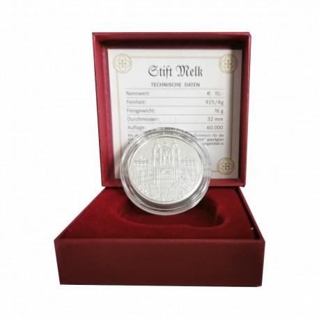 "Austria 10 euro 2007 - ""Melk Abbey"" - PROOF"