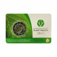 "Belgium 2020 - ""Plant Health"" - coincard (French version)"